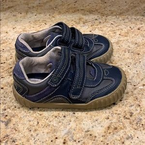 Baby boys Stride Rite Gilmore shoes Blue Gilmore 7